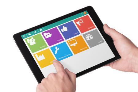 PiSA sales CRM-App für das Tablet