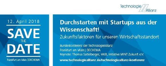 Bundeskonferenz der TechnologieAllianz