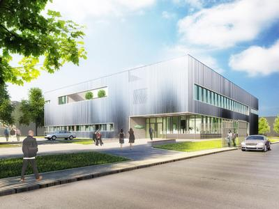 One of the SCHAUFLER Academy highlights will be the innovative energy concept, featuring heat pumps for heating and cooling, underground latent storage (ice storage), the solar thermal collector and the block-type thermal power station