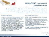 Anmeldung Expertenrunde - neue DB Technologien 2013