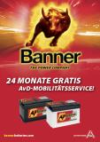 Banner Batterien kooperiert seit mehr als 15 Jahren mit dem AvD im Rahmen des AvD Mobilitätsservices / Fotocredit: Banner Batterien