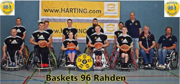 Die Baskets 96 Rahden wollen in der 2. Bundesliga ganz oben mitspielen
