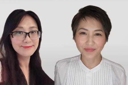 Celine Huang of HeiQ China and Ming Liang of HeiQ Taiwan