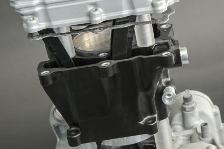 Motor mit Zylindergehäuse aus Sumitomo Bakelite Co., Ltd. Materialien