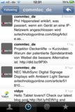 AV-Branchenspiegel in der Twitter Timeline des Followers