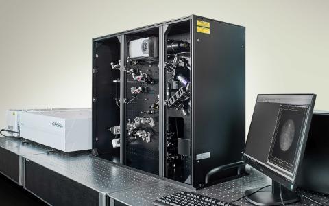 Summenfrequenz-Spektrometer (SFG)