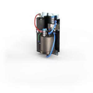 Mit dem mitgelieferten Druckbooster können Anwender den Druck rein mechanisch erhöhen und so Energiekosten in erheblichem Umfang sparen.
