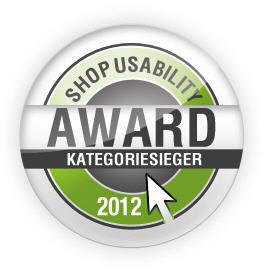 Logo Shop Usability Award