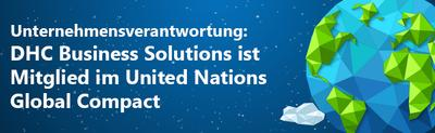 DHC Business Solutions Mitglied im United Nations Global Compact