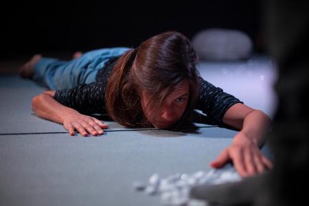 Milena Fischer macht sich auf die Suche nach der Stille. Foto: Leona Ohsiek