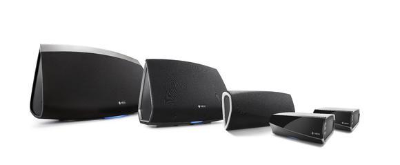 HEOS by Denon – Produktfamilie mit Amp und Link