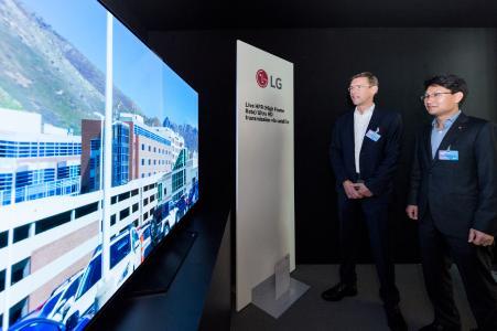 LG und SES demonstrieren 4K-High-Frame-Rate-Technologie auf den SES Industry Days