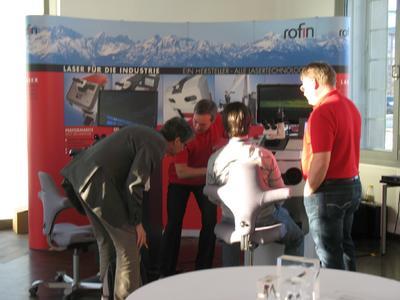 Großes Interesse an Rofins Handschweißlaser Performance + Select