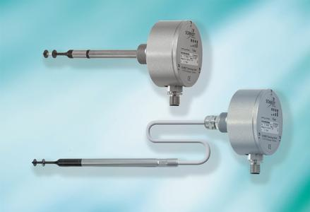SCHMIDT® flow sensors SS 20.500 for dust-containing air and aggressive gases – for difficult mounting situations in a version with remote sensor