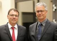 Die Gründer von UNITEDINTERIM: Dr. Harald Schönfeld (links) und Jürgen Becker (rechts)