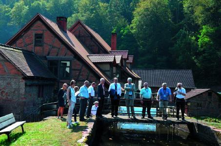 Von der Schokolade bis zum Lötkolben - Professoren bekommen Einblicke in die Vielfalt der Region / Foto WHF GmbH