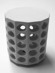 3D Druck Beton - Lampenschirm mit komplexer Geometrie