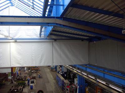 SIMON RWA Smoke curtains
