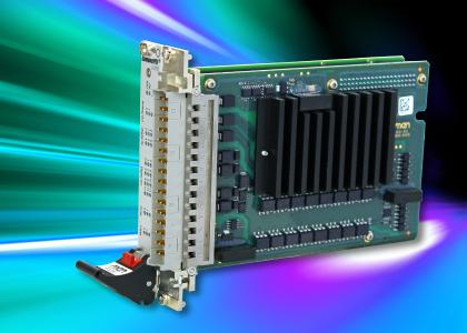 CompactPCI Card F405: A Robust Multi I/O Board for Railway Applications
