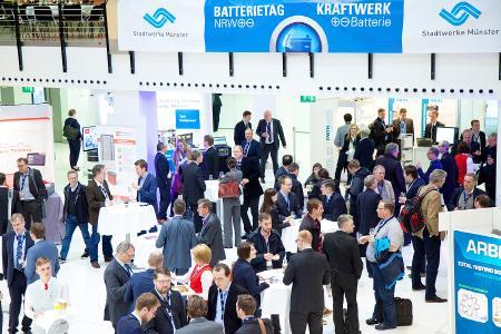 Batterietagung 2018 Münster Ausstellung