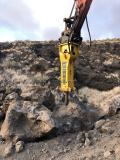 Epiroc HB 4100 Hämmer beste Wahl für ein komplexes Infrastrukturprojekt in Gran Canaria, Spanien