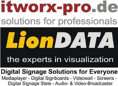 Digital Signage Solutions for Everyone - LionDATA