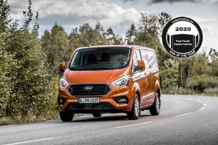 International Van of the Year 2020: Ford Hybrid