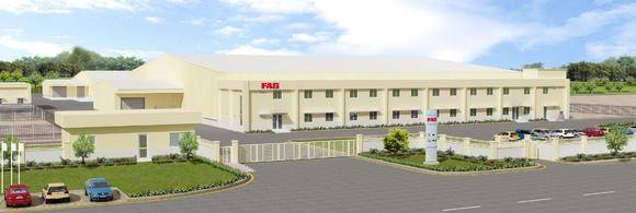 3D rendering perspective of the new manufacturing facility at Savli /The plant was inaugurated by Georg F. W. Schaeffler, Owner of the Schaeffler Group, on 29, 10. 2012 in the pres-ence of Dr. Jürgen M. Geißinger, CEO of Schaeffler AG, Mr. Dharmesh Arora, CEO of Schaeffler in India and Mr. Rajendra Anandpara, Managing Director of FAG Bearings India