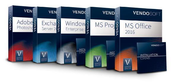 Software nuovo e usato di Microsoft e Adobe