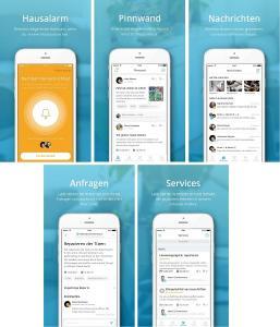 cunio Mieter-App (Bildquelle: cunio)