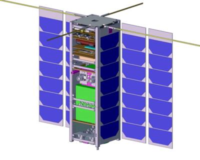 Innovative nanosat will test space software