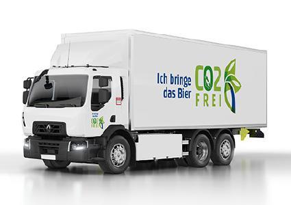 Mit 20 Renault Trucks D Wide Z.E. wird die Carlsberg Gruppe zukünftig Kunden beliefern