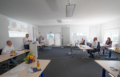 Am 23. Juni lud die CURSOR Software AG zur Hauptversammlung in die Firmengebäude in der Friedrich-List-Straße ein / Foto: CURSOR