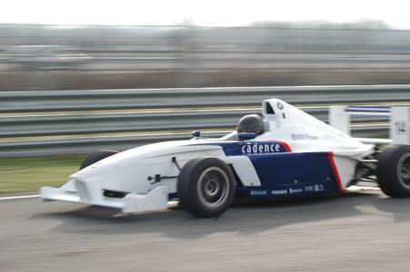 Im Formula BMW Talen Cup geht es mit dem FB02 in Spanien richtig zur Sache