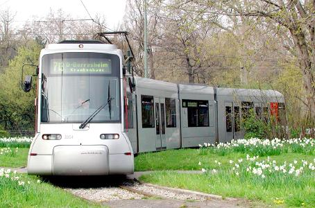 iCOM will be used in NF8U light rail vehicles of the type pictured | © Rheinbahn