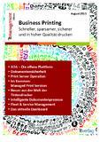eBook Business Printing: Die Lizenz zu Kosteneinsparungen