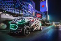 Mercedes-Benz Vision URBANETIC auf dem Las Vegas Strip