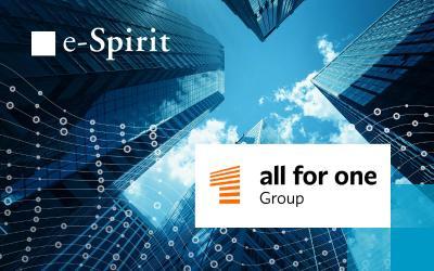 All for One Group setzt auf das FirstSpirit Hybrid CMS in der Cloud