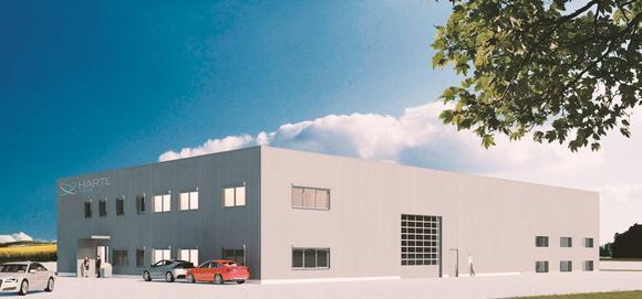 Hartl Group: So könnte das Rechenzentrum aussehen - die 3D Ansicht
