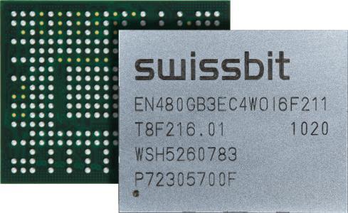 Kleine Größe, immense Leistung: Swissbit-PCIe-BGA-EN-20. Bildquelle: Swissbit