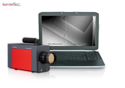 Wärmebildkameraserie ImageIR® von InfraTec mit MicroScan-Einheit