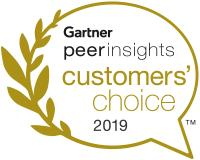 Gartner Customers Choice Award 2019