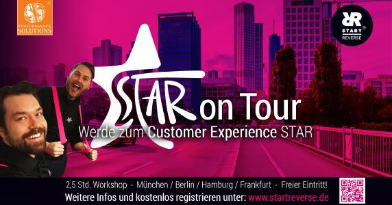 Performance Solutions organisiert Customer Experience Roadshow - STAR on Tour – in 4 Städten in Deutschland