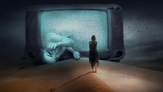Man kann Hörfunk per Fernseher empfangen...