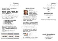 3-Tages-Unternehmens-Check für IT-Unternehmen