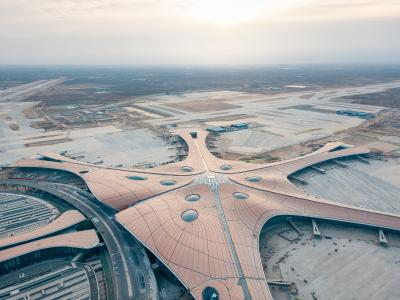 Shutterstock Beijing Daxing Airport January 2019