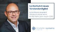 citadelle systems AG: Ivo Kai Kuhnt neues Vorstandsmitglied