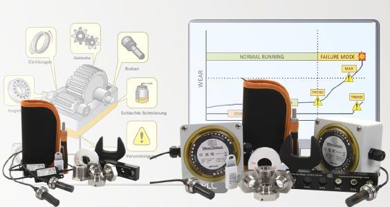 WearDetect: Das neue Starter-Set zum schnellen und einfachen Einstieg in das Echtzeit -Condition Monitoring