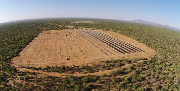 Größte PV-Anlage Namibias mit einer Ausgangsleistung von 4,5 MW nutzt 50 kVA String-Wechselrichter von Delta