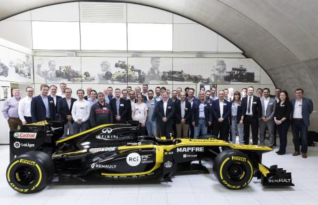Customer Day at Renault Sport Formula OneTM Team Technical Centre in Enstone